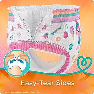 Easy-Tear Sides
