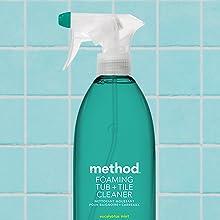 tile cleaner, tub cleaner, bathroom cleaner