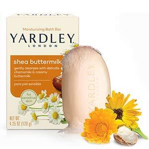 shea buttermilk yardley soap