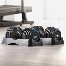 NordicTrack, Dumbbells, Select-A-Weight