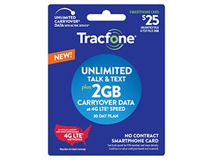 Unlimited Talk & Text Plus 2GB