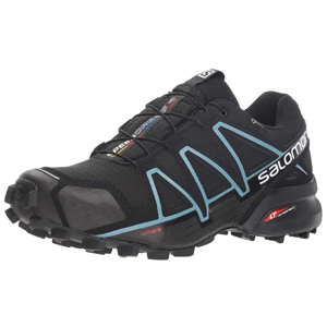 SALOMON Speedcross 4 GTX, Zapatillas de Running para Asfalto para Mujer, Azul BluebirdIcy MornEbony, 37 13 EU