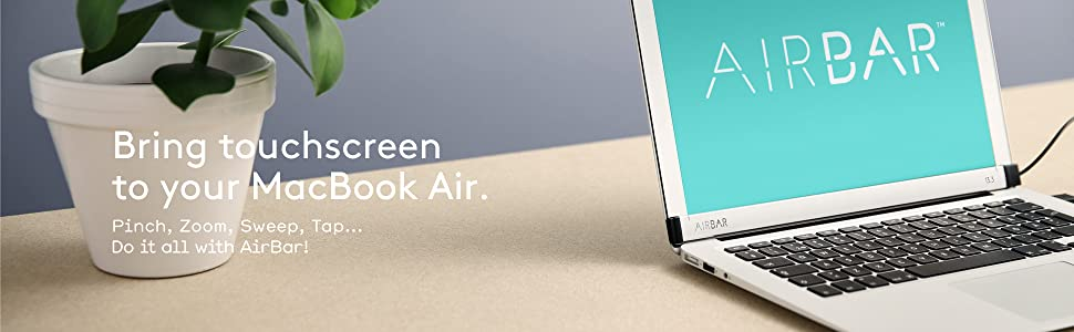 AirBar adds touch to Macbook Air