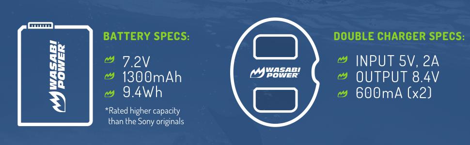np-fw50 battery specs