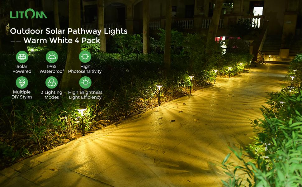 solar landscape pathway lights