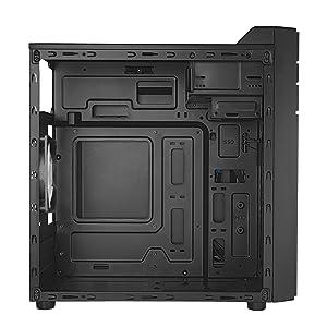 Tacens INTEGRA, caja para PC, minitorre, Micro ATX, ventilador 12cm, USB 3.0: Amazon.es: Informática