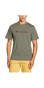 Miller Valley Short Sleeve Tee Columbia Kurz/ärmliges T-Shirt f/ür Herren Polyester//Viskose