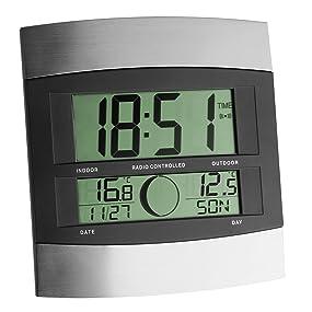 Digitale Funkuhr mit Außentemperatur 98.1006