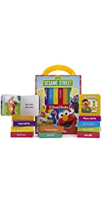 Sesame Street - My First Library Board Book Block 12-Book Set