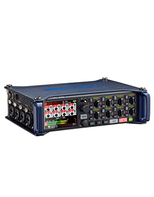 Zoom F8 Field Recorder Slant