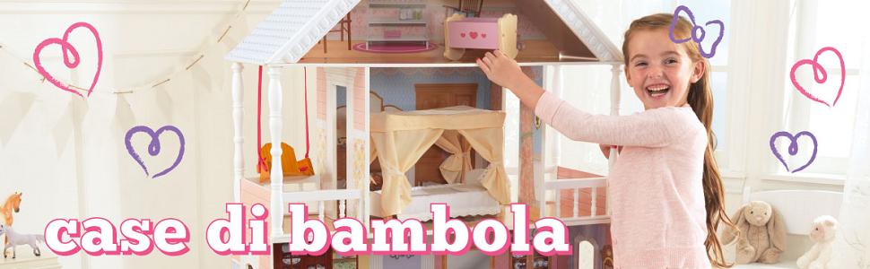 KidKraft Dollhouse, Dollhouse, Dolls house, Little girl with dolls house