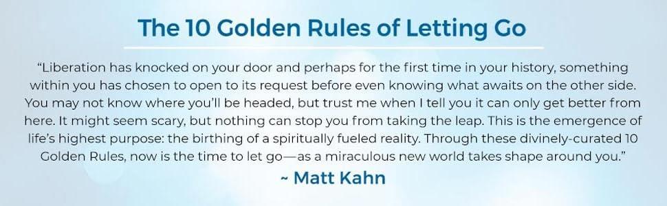 universe always has a plan matt kahn empath healer spiritual centered joy liberating