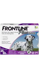 frontline plus flea tick treatment large dog
