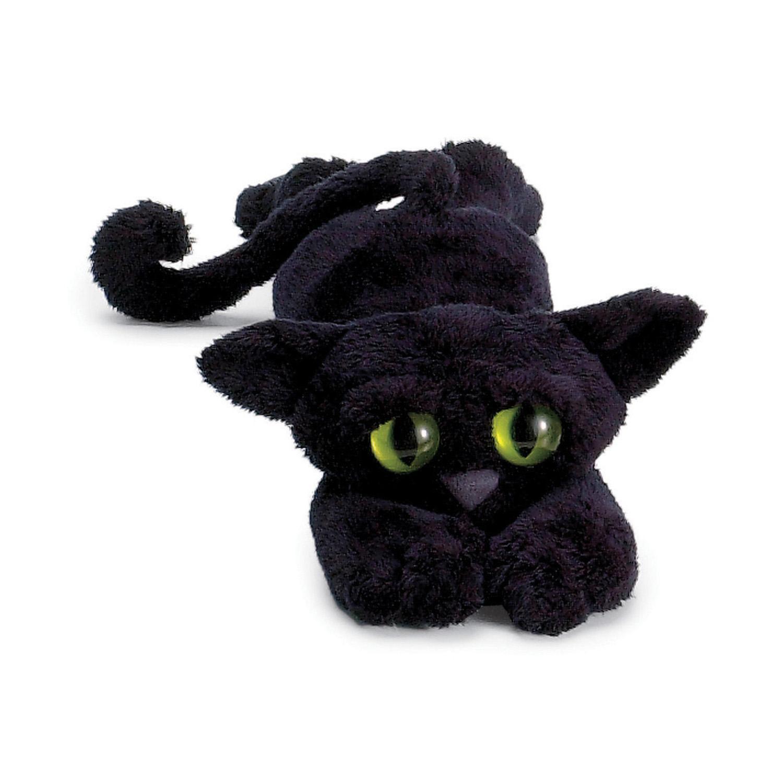 manhattan toy lanky cats ziggy black cat stuffed animal toys games. Black Bedroom Furniture Sets. Home Design Ideas