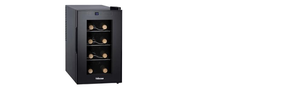 Nevera para vino Tristar WR-7508 - Para 8 botellas - Clase ...