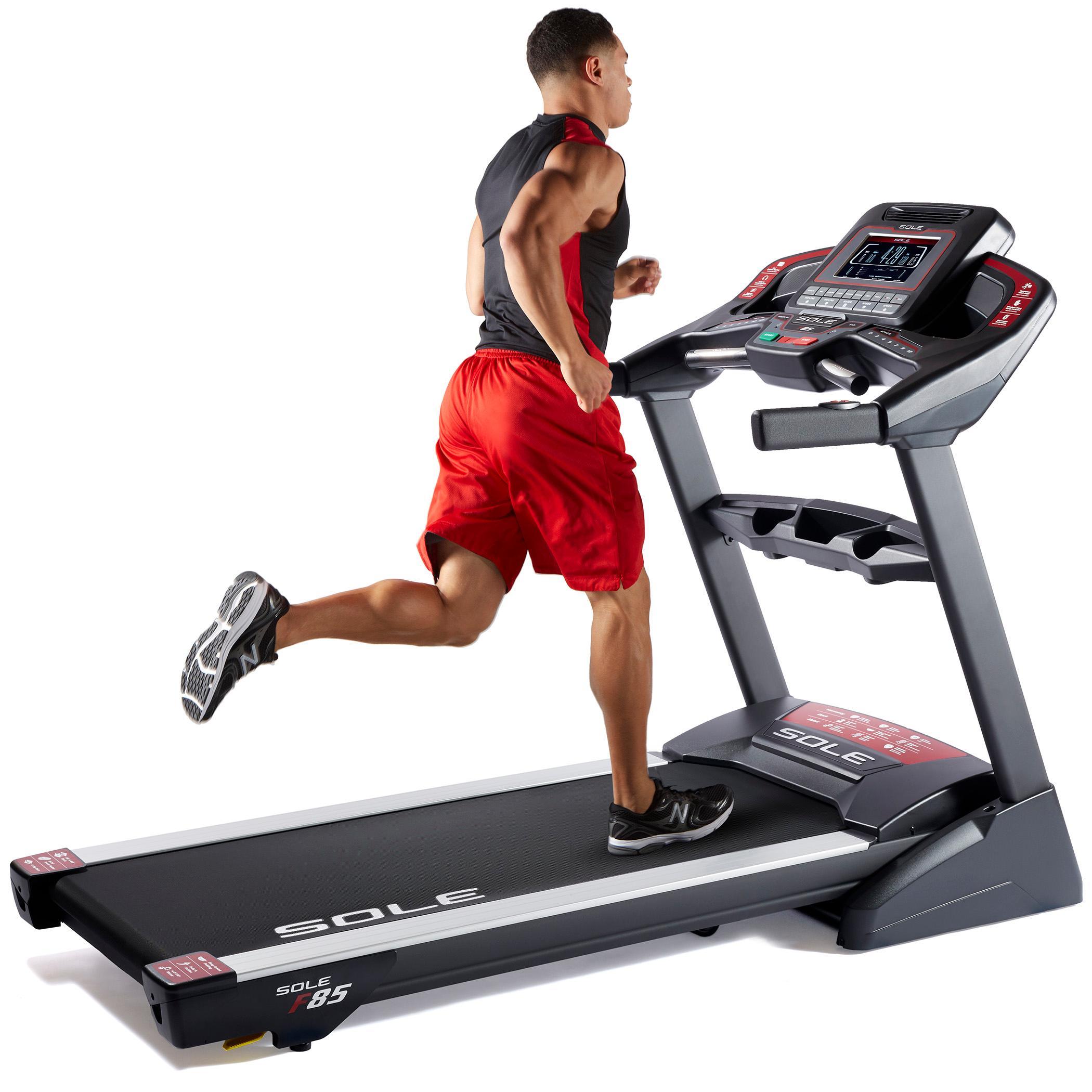 SOLE Fitness F85 Folding Treadmill Machine