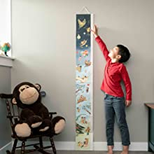 wonderful things you will be;baby shower gift;new mom gift;mom to be gift;gifts for mom;growth chart