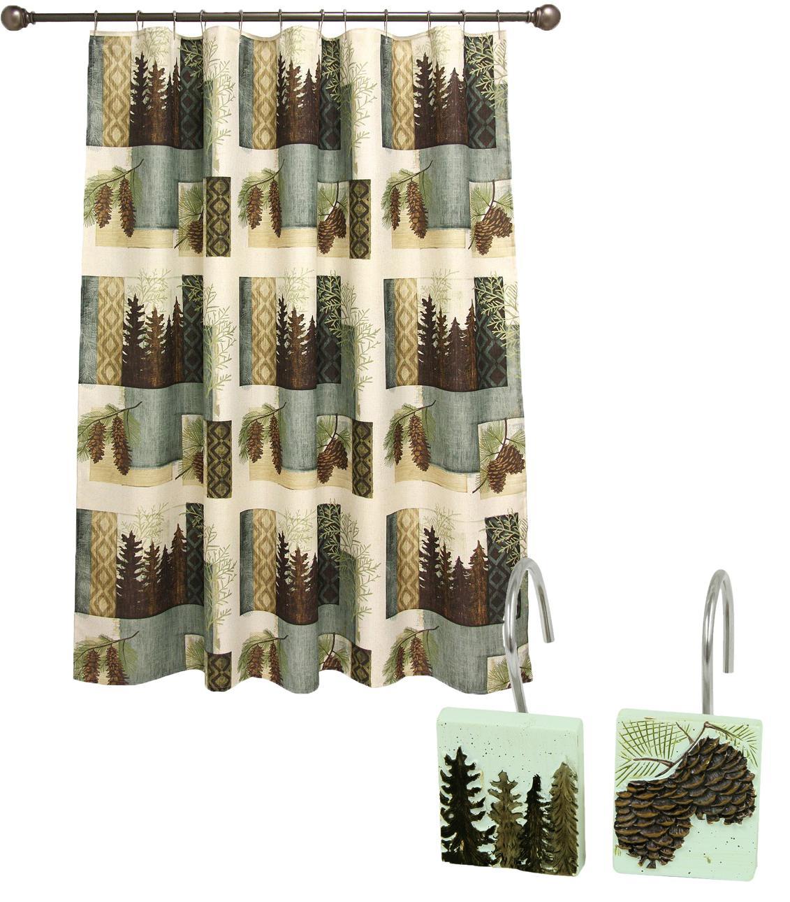 bacova guild westlake fabric shower curtain. Black Bedroom Furniture Sets. Home Design Ideas