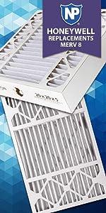 Amazon Com Nordic Pure 20x25x5 Honeywell Replacement Ac