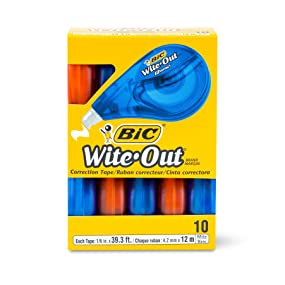 BIC Wite-Out Brand EZ Correct Correction Tape