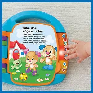 Infant - Libro interactivo para aprendizaje Fisher-Price (Mattel DTM98)