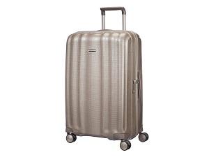 samsonite; lite cube; spinner; spinner 76; spinner l; maleta; maleta dura; maleta ivory gold