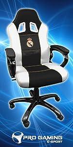 Subsonic - Silla Gaming Con Asiento De Carrera Ergonómico ...