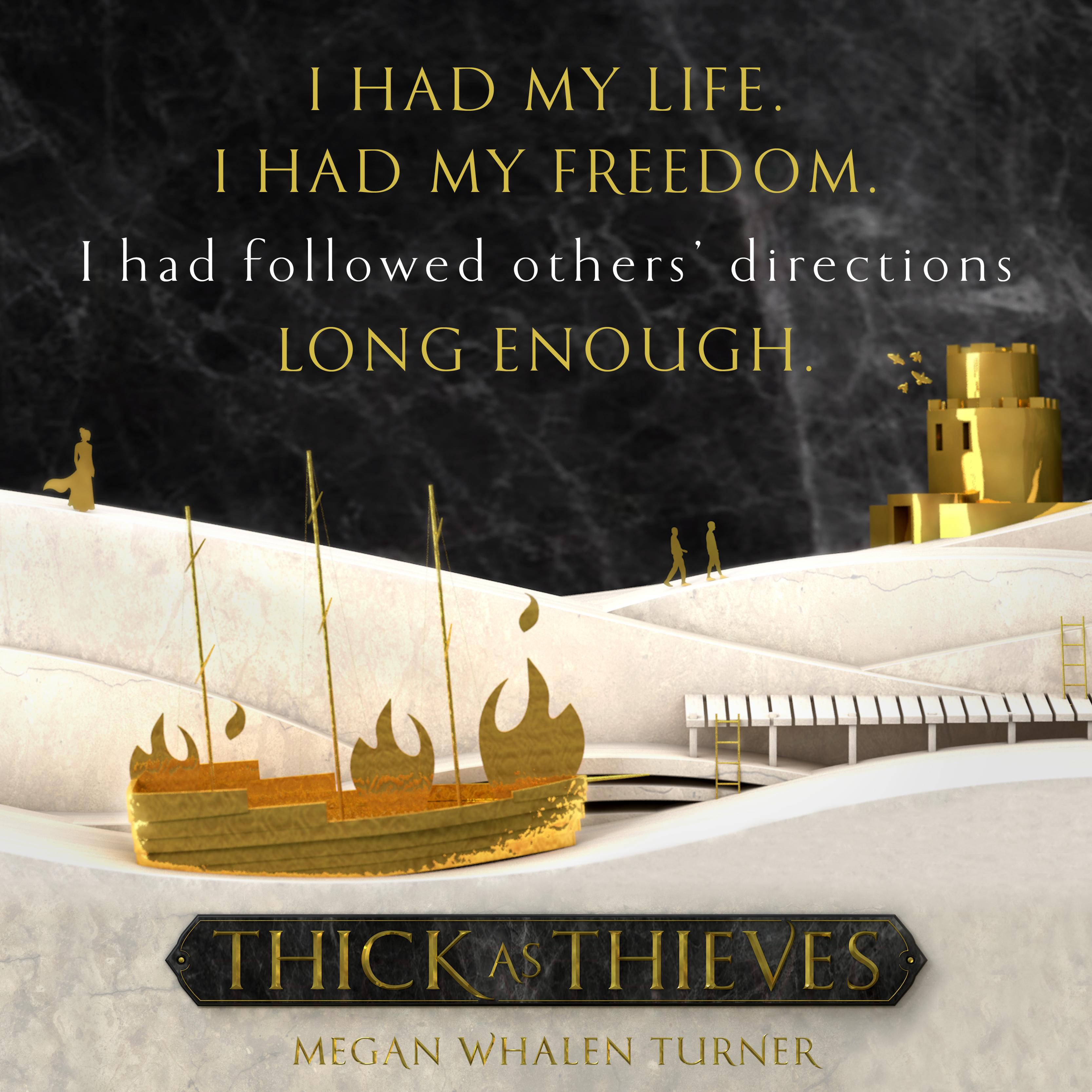 Amazon thick as thieves queens thief ebook megan whalen view larger fandeluxe Images