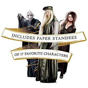 Includes paper standees of 17 favorite characters