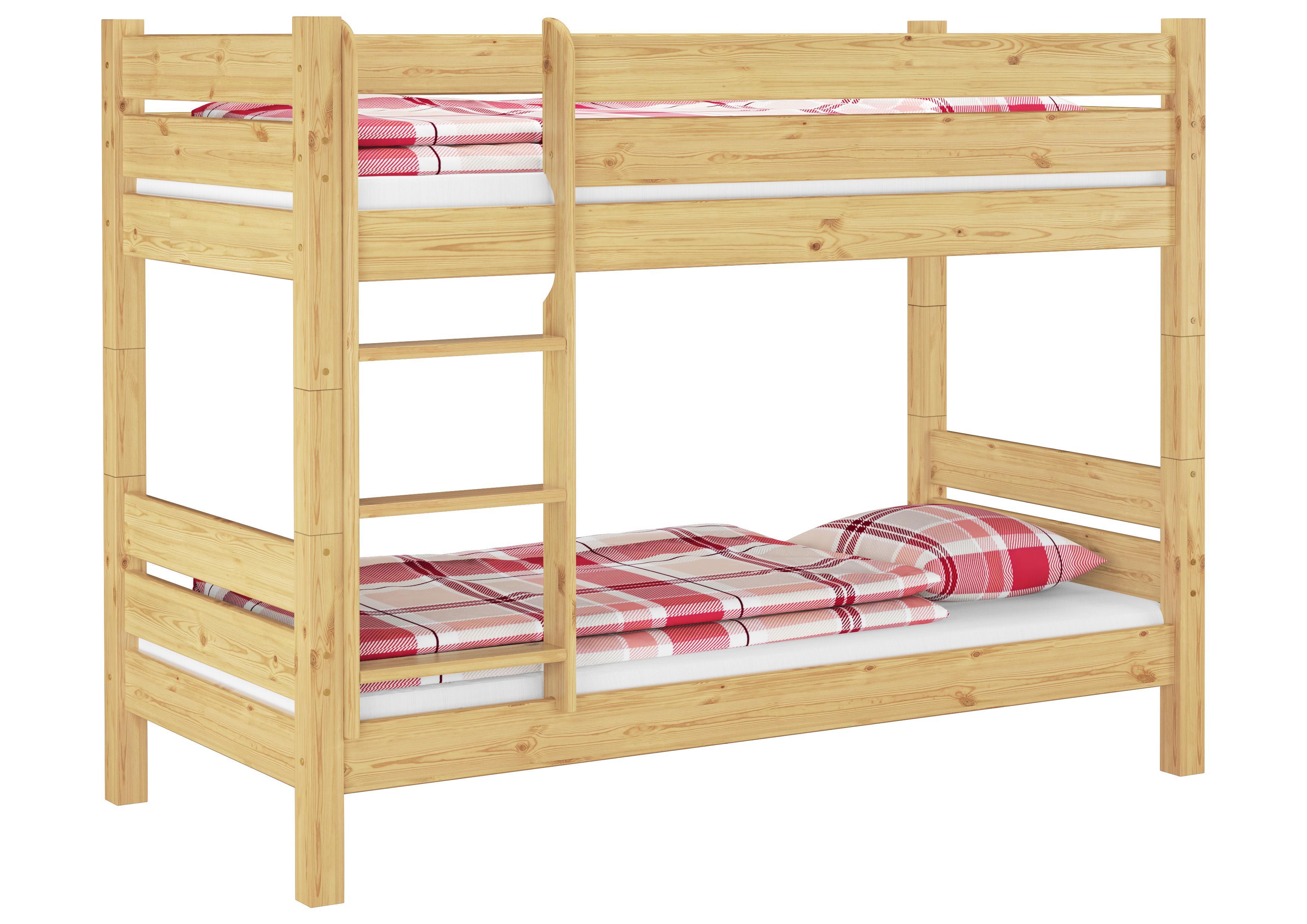 erst holz etagenbett extra stabil massivholz 80x200 stockbett nische 80 teilbar rollroste. Black Bedroom Furniture Sets. Home Design Ideas