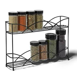 Details about  /Versatile Countertop Wall Hanging Metal HERB and SPICE RACK