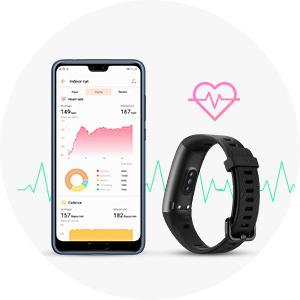 pulsera de actividad con heart rate