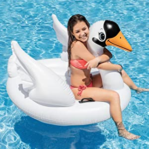 Intex 57557NP - Cisne hinchable 130x102x99 cm: Amazon.es: Juguetes ...