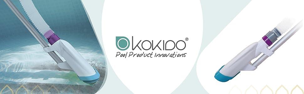 Kokido V-Trap - Kit de limpiafondos con manguera y pértiga de 2.4 ...