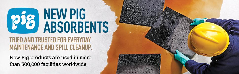 absorbent mat, absorbent mats, absorbant mat, new pig mat, pig mat, oil mat, oil absorbing mat, oil