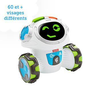Un robot interactif qui permet de stimuler le corps et l'esprit des petits !