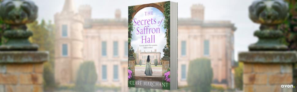 The Secrets of Saffron Hall, Saga, Clare Marchant, Tudor, Hilary Mantel, Historical Fiction,