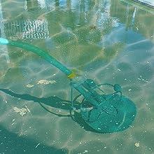 non-pool season, avoid debris, clean up , flapper
