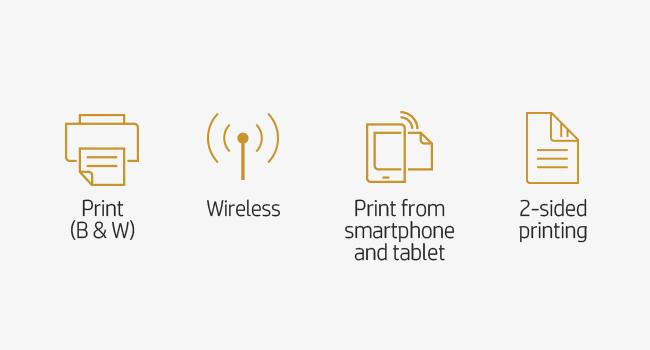 print B&W 802.11 Wi-Fi two-sided printing