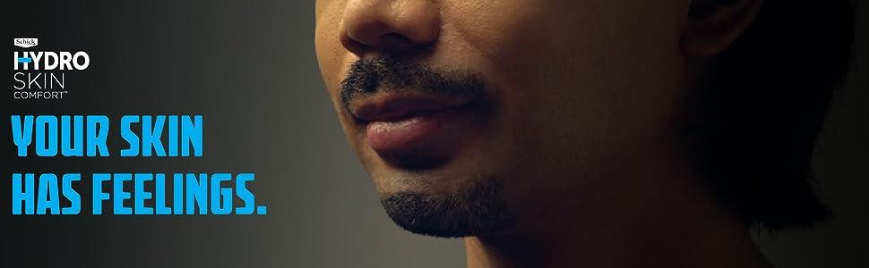 Schick Hydro Skin Comfort Mens Razor System Mens Shaving Mens Stubble Comfort Smooth No Irritation