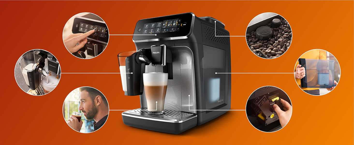 Philips Espresso machine LatteGo