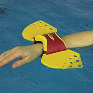 Amazon Com Theraband Aquafins Aquatic Exercise Kit For