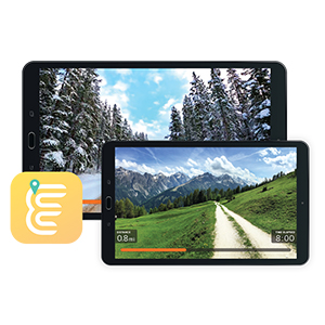 Explore the World App Bluetooth Connectivity Bowflex BXE116 Elliptical