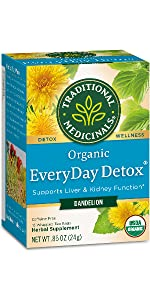 Traditional Medicinals Organic Everyday Detox Dandelion Tea