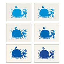 repeat, repetition, repeating, lots, whale, lino, linoprinting, linocutting