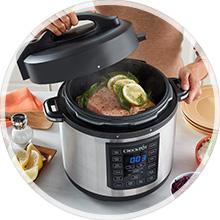 Pressure Cooker, Slow Cookers, Multi-Cooker, Instant Crockpot, Instant Pot, Instant Cooker