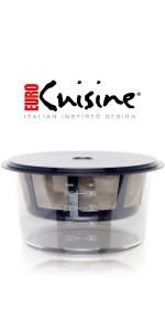 Euro Cuisine GY60 yogurt strainer
