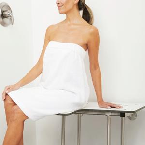 lift assist shower seat