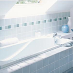 Haute qualité à base d/'eau Blanc Salle de Bain Cuisine Mastic de Seulement £ 2.49 Tube