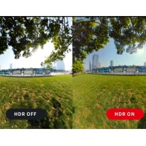 HDR撮影機能